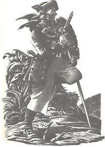 Ficciones literarias sobre piratas y corsarios