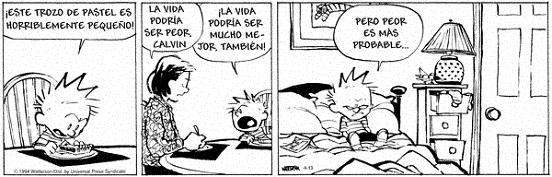 Calvin, Hobbes & Zits: Comic con mezclas de Cotidianidad