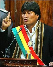 Evo Morales - Garcia Lineras: Mezclas místicas