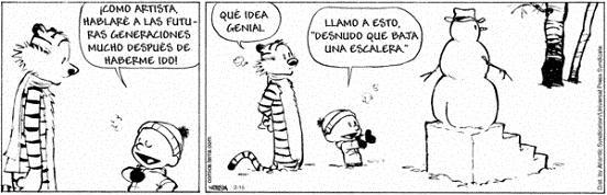 Calvin & Hobbes:Arte, cultura y Duchamp