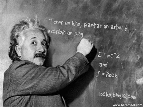 Einstein escribe...