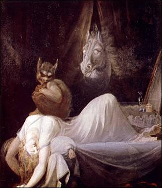 Los malditos alucinados escarbando en fobias y pesadillas