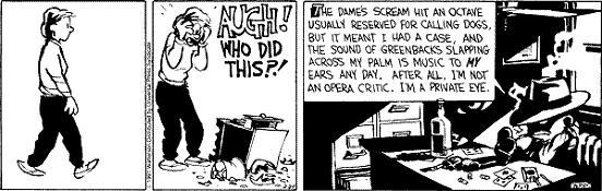 Calvin, Hobbes & Humphrey Bogart: Cine Negro