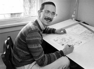 Bill Watterson y una entrevista 15 años después