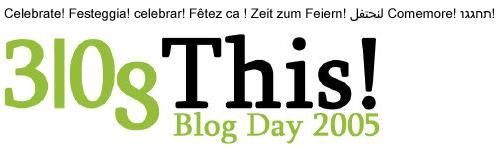 Blog Day 2005: Fotoblogs y Letras