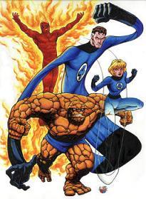 4 héroes de comic al cine