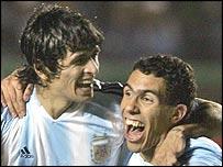 Argentina 3-Colombia 0:¿Una Cumbia? noo.. mejor un tango