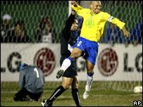 Brasil 2 - Uruguay 1: Los pentas sufrieron mas de la cuenta