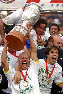 Final Copa America 2004: Los gauchos hicieron todo... Los pentas se llevaron el Oro
