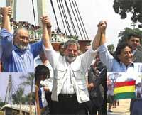 Lula, Mesa y Toledo: El inicio de la nacion Sudamericana