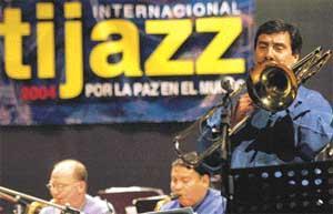 """""""Por la paz mundial"""" -FESTIJAZZ 2004- en La Paz"""