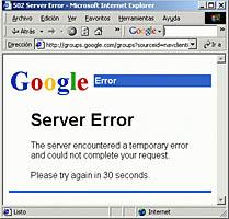 Google sale del Internet