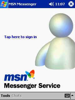 Prueba el nuevo MSN-WEB messenger on line