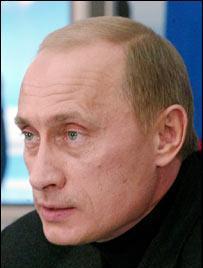 """Como Bush... ahora Putin: """"Los debiles pierden"""""""