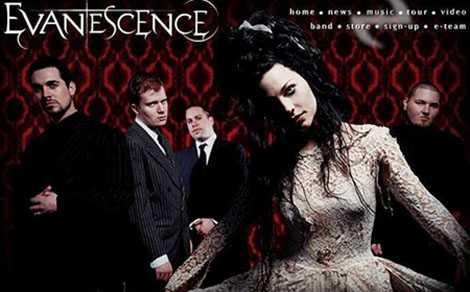 Evanescence mejora su Web Site